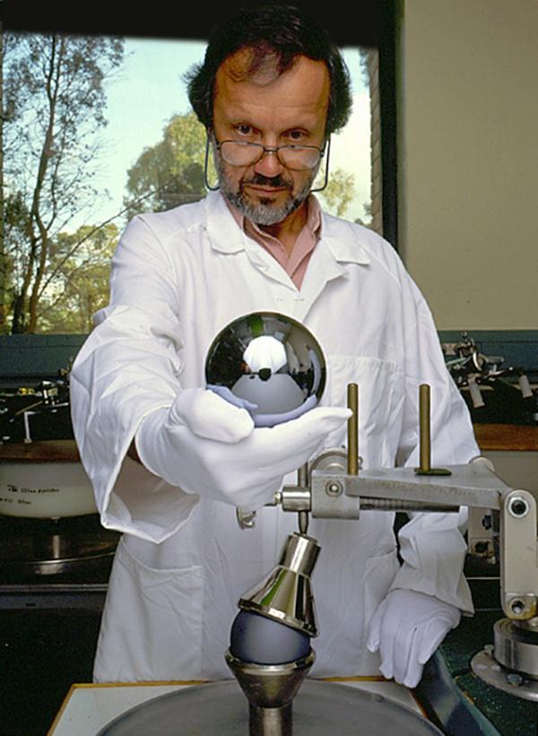projeto avogadro esfera de silicio