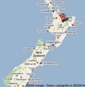 regiao norte nova zelandia mapa