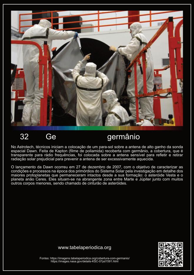 elemento germânio na astronomia