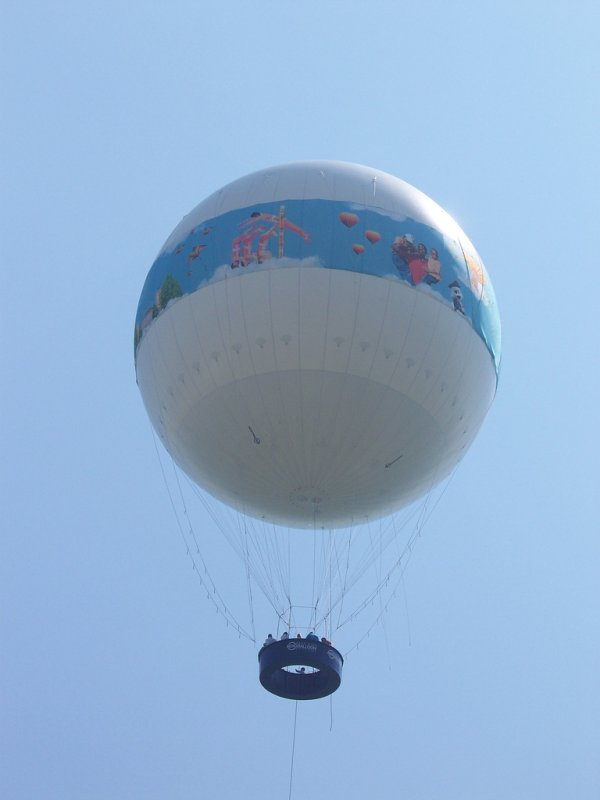 hélio em balão