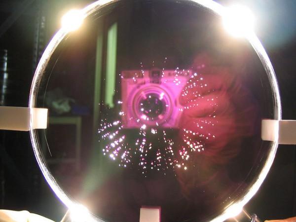lente rosada