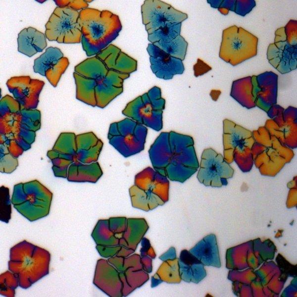 sulfeto de chumbo colorido