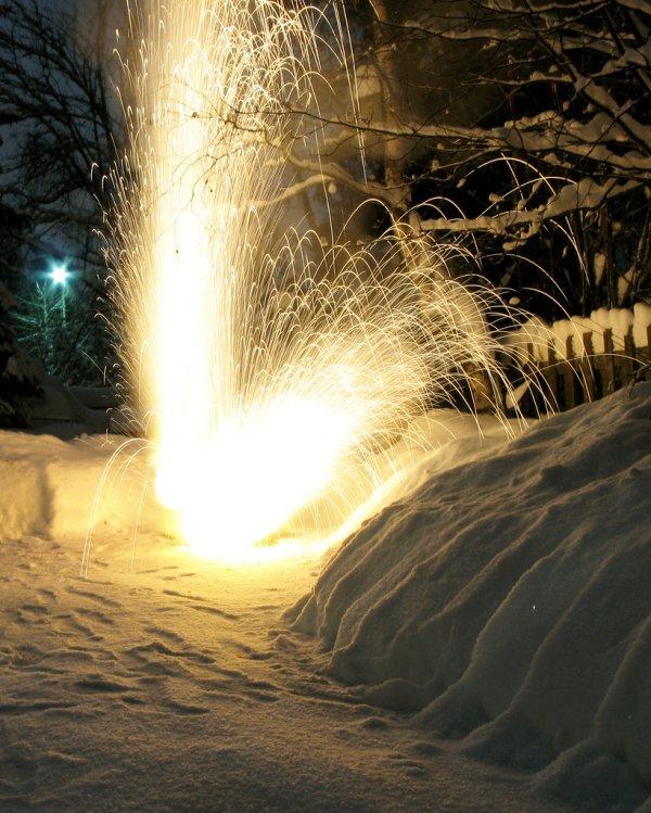 explosão com elemento sódio