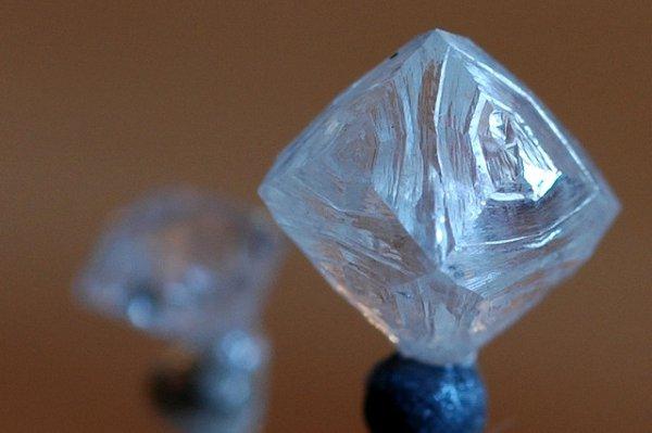imagem em close de um cristal
