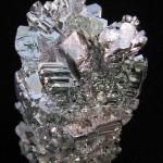 amostra de magnésio brilhante