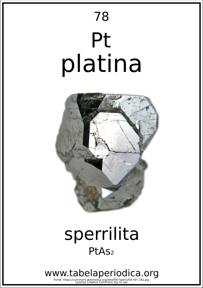 sperrilita - PtAs2