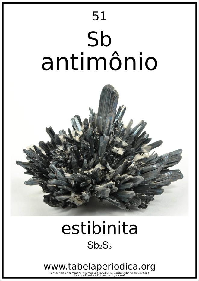 estibina e o antimônio