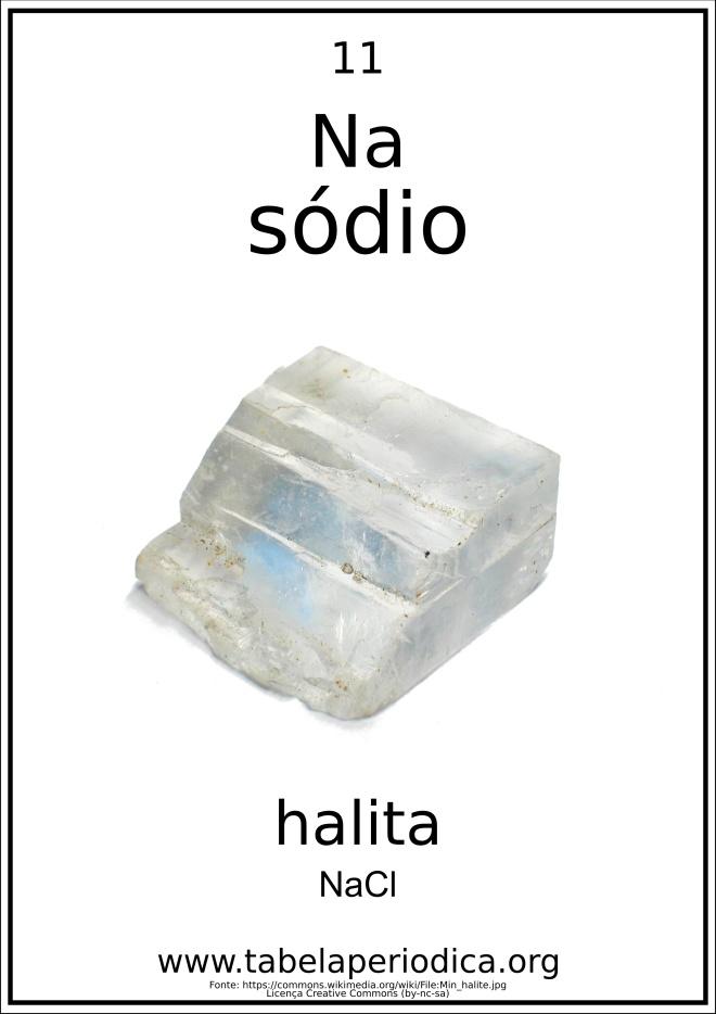 mineral halita
