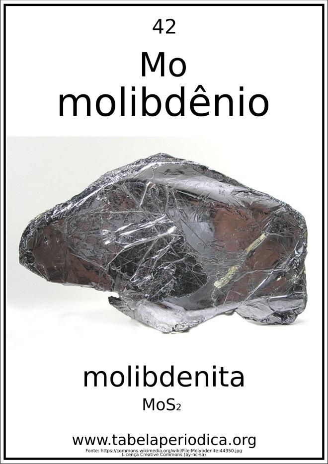 elemento químico em mieral
