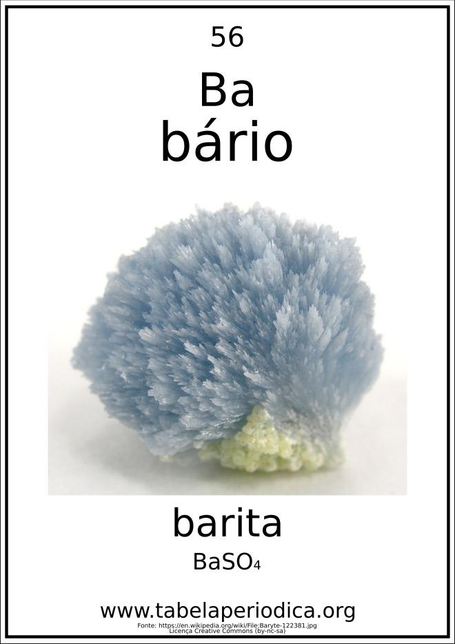sulfato de bário