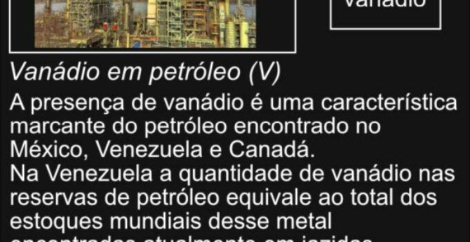 Vanádio no petróleo